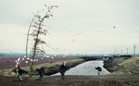 Jeff Wall - A Sudden Gust of Wind