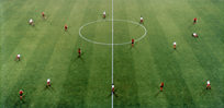 Fortuna Düsseldorf, par Andreas Gursky
