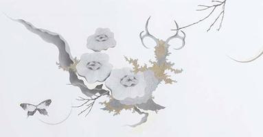 Hiroe Saeki, Untitled, 2006, pencil and acrylic on paper (Courtesy of Taka Ishii Gallery)